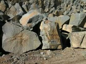 蝴蝶蓝石材石料场
